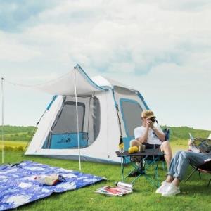 MOBIGARDEN牧高笛DEX19561004全自动速开凉亭帐篷3-4人*3件 570.9元(需用券,合190.3元/件)