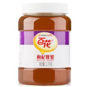 百花牌枸杞蜂蜜1500g*2件    168元(合84元/件)