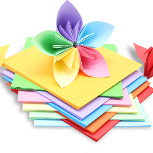 折纸纸正方形硬卡纸大张彩色厚手工a4彩纸学生幼儿园儿童手工纸制作材料千纸鹤爱心折纸剪纸书专用贺卡纸叠纸2.9元(需用券)