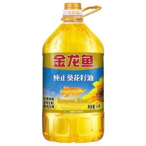 金龙鱼纯正葵花籽油4L39.9元