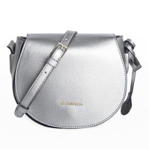COCCINELLE可奇奈尔女士银色牛皮十字压纹小巧单肩斜挎包E1BF51502011691190元