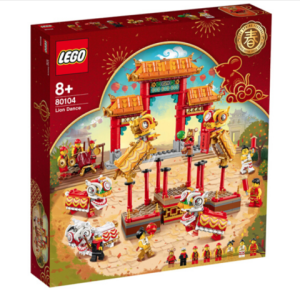 LEGO乐高新春系列80104舞狮 599元