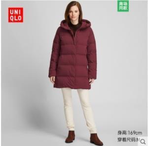 UNIQLO优衣库420252女士无缝羽绒大衣699元