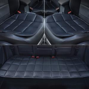 Carsetcity卡饰社竹炭垫三件套四季座垫座套黑色149元