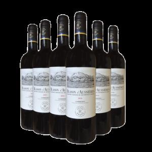 DBR拉菲正品法国红酒奥希耶徽纹原瓶进口干红葡萄酒整箱6支木塞款488元