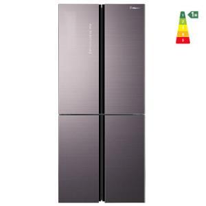 海信食神451升十字对开门电冰箱母婴专属空间一级能效变频风冷磨砂玻璃四门BCD-451WTDGVBP    5599元