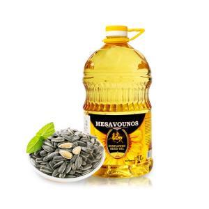 迈萨维诺乌克兰进口压榨葵花籽油5L/桶烹调炒菜食用油*6件284.43元(合47.41元/件)