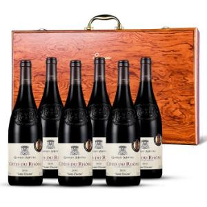 17号:法国原瓶进口红酒露颂世家法定AOC干红葡萄酒罗纳河谷产区-法国红酒发源地整箱礼盒装750ml*6699元