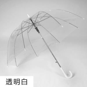 零梦半自动透明折叠雨伞鸟笼款 25.36元包邮(需用券,需拼购)