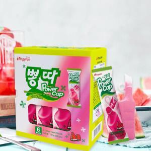 宾格瑞韩国进口西瓜口味冰棒125g*6支雪糕家庭装冰淇淋*7件 109.97元(合15.71元/件)