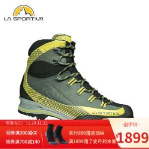 lasportiva登山鞋穿山客Trango重装耐磨徒步登山鞋男户外鞋Carbon/Grey40 1699元