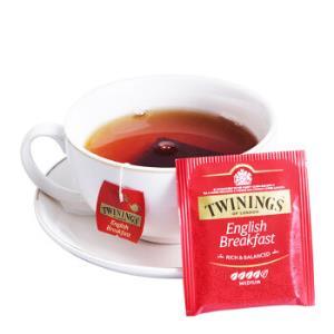 川宁茶叶红茶茶包英国川宁英式早餐红茶20g*11件 91.66元(合8.33元/件)