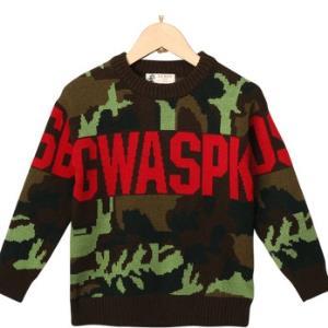 大黄蜂BIGWASP2018秋季新款儿童圆领毛衣*3件 223.89元(合74.63元/件)
