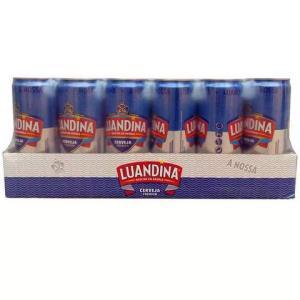 非洲安哥拉进口啤酒罗安娜易拉罐听装麦芽黄啤酒330mL*24*2件 87元(合43.5元/件)