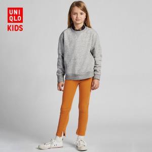优衣库UNIQLO童装/女童罗纹紧身裤420852 35元