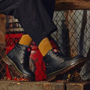 Dickies女士短靴马丁靴秋冬新款欧美潮流情侣款舒适女靴子    299元