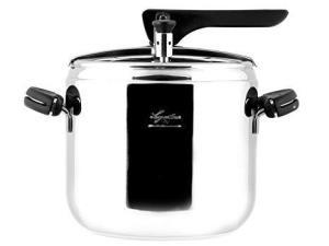 LagostinaMia高压锅,不锈钢18/10,黑色锅柄银白色/黑色7L 505.65元
