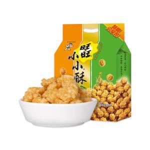 旺旺小小酥分享包休闲膨化零食混合口味350g*10件 98元(合9.8元/件)
