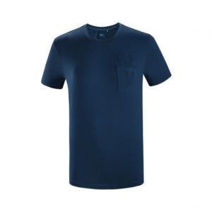 凯乐石男款coolmax排汗速干透气休闲印花短袖T恤 76元