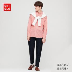 男装优质长绒棉衬衫(长袖)425056优衣库UNIQLO 129元