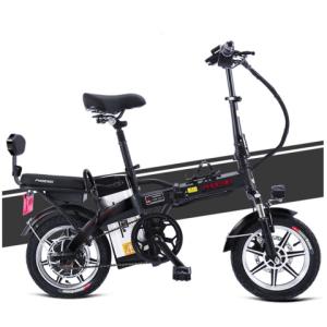 PHOENIX凤凰快枪3代TDT001Z48V14寸可折叠锂电瓶电动自行车 1799元