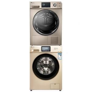 LittleSwan小天鹅TG100V120WDG+TH90SH02WG洗烘组合套装+凑单品 4952.7元