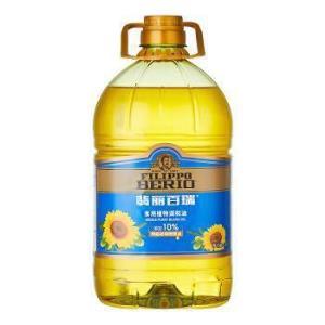 翡丽百瑞食用植物调和油4L(90%的葵花籽油+10%特级初榨橄榄油)*2件158元(合79元/件)