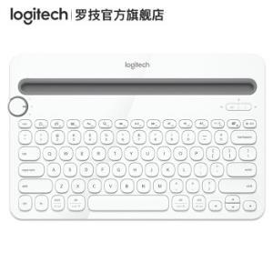 罗技(Logitech)K480多设备蓝牙键盘白色129元