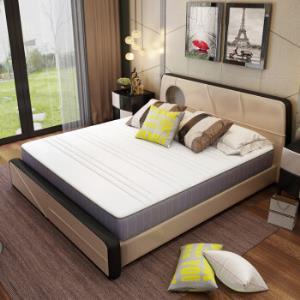 梦神泰国进口乳胶碳合金邦尼尔静音弹簧深睡眠床垫梦想Dream1500*2000*240 864.5元