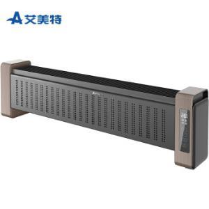 艾美特(Airmate)取暖器/电暖器家用/移动地暖电暖气片智能遥控石墨烯远红外静音踢脚线WD22-A4669元