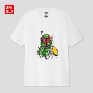 男装/女装/亲子装(UT)STARWARSFOREVER印花T恤(短袖)426816 99元