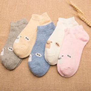 加绒加厚秋冬中筒羊毛袜*2件 14.9元(合7.45元/件)