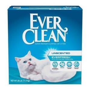 EverClean蓝钻膨润土砂猫砂25磅/11.3kg