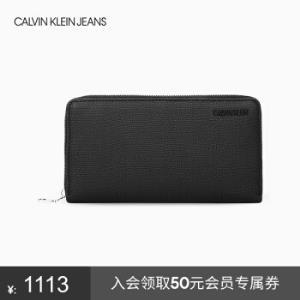 CKJEANS2019秋冬新款男士简约时尚票夹HP1361S7200001-黑色ST    765元