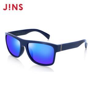 日本JINS时尚方框偏光太阳镜墨镜防紫外线经典复古大框MPF15S85258藏青色*11件    1039元(合94.45元/件)