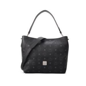 MCM女士KLARAVISETOS系列时尚黑色单肩包水饺包MWH9SKM86BK001    4070元