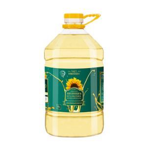 乌克兰进口�嗵匮拐タ�花籽油5000ml*2件96.8元(合48.4元/件)