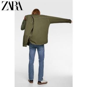 ZARA06917380505男士牛仔衬衫 99元