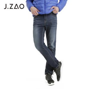 J.ZAO京东京造男士牛仔裤基础合体磨毛牛仔裤深蓝色31(170/80A)*3件 233.5元(合77.83元/件)