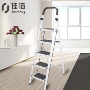 佳佰家用五步梯白色 129元