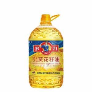 多力葵花籽油5L食用油去壳科学压榨59.9元