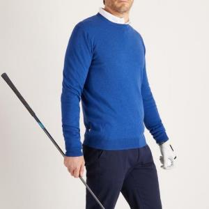 高尔夫圆领男士套头衫INESIS520系列 79.9元