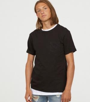 H&MDIVIDEDHM0541706男士薄款短袖T恤 20元
