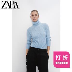ZARA新款混纺面料针织衫09598102406 79元