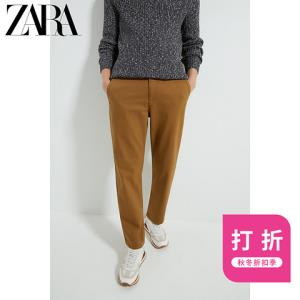 ZARA00706544707男装纹理裤子工装裤 99元