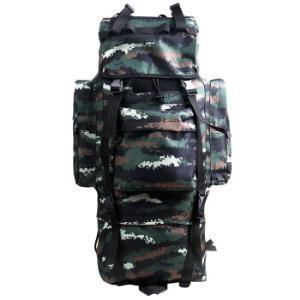 兵行者100L升特战单兵大型背囊单兵携行具背包战备虎斑迷彩适合野营徒步登山特战迷彩 195元