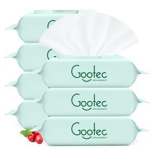 谷斑婴儿植萃柔湿巾80抽*7包装匠系列蔓越莓精华 19.9元