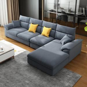 A家布艺沙发三人位中位右贵妃位*3件    7957.45元(合2652.48元/件)