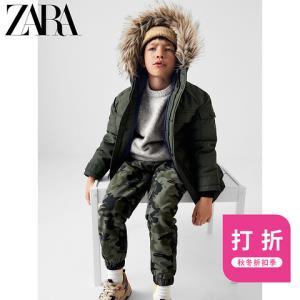 ZARA新款童装男童保暖撞色羽绒派克外套05992780505 199元