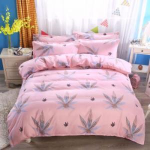 床上用品植物羊绒棉磨毛四件套床单被套罩 89元